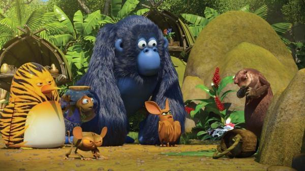 Sleduj online Animovaný, Dobrodružný, Rodinný Esa z pralesa na ČT :D, ČT2!