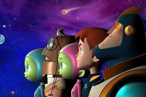 Sleduj online Animovaný, Rodinný Cosmic Quantum Ray na Kika!