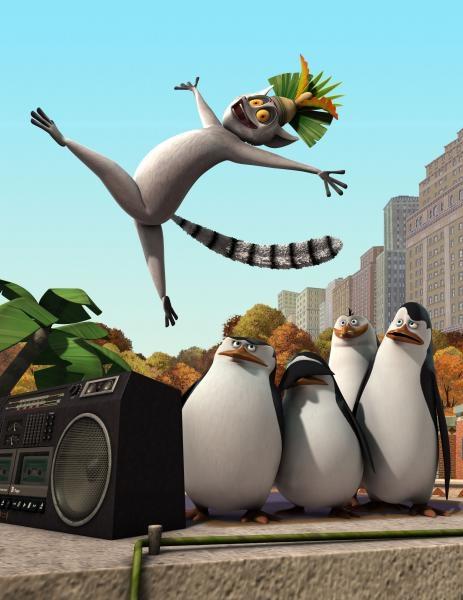 Sleduj online Animovaný, Akční, Dobrodružný, Komedie, Rodinný, Science Fiction Pingwiny z Madagaskaru na Puls 2!