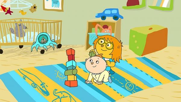 Sleduj online animovaný, dětem Berta a Ufo na !