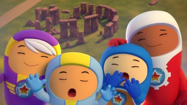 Sleduj online Animovaný, Rodinný Tryskouni na ČT :D!