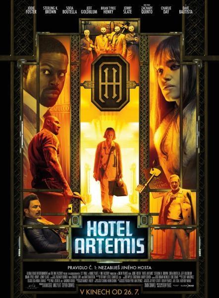 Sleduj online akční, krimi, sci-fi, thriller Film týdne: Hotel Artemis na !