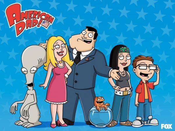 Sleduj online Animovaný, Komedie, Sitcom Americký táta na Prima Comedy Central!