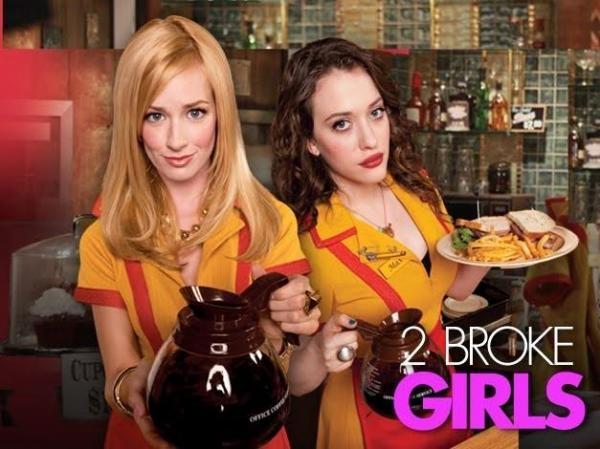 Sleduj online Komedie, Sitcom 2 Broke Girls na PRO7!