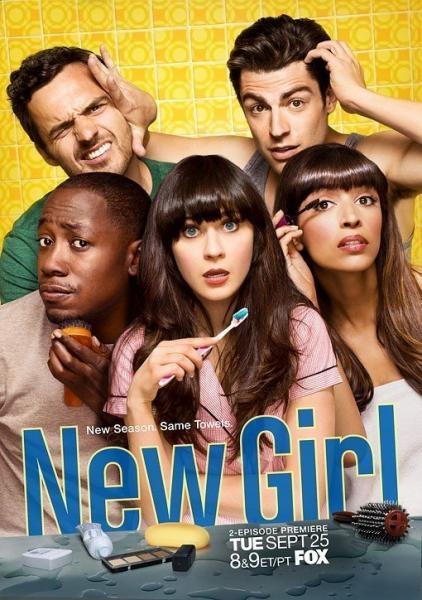 Sleduj online Komedie, Sitcom New Girl na PRO7!