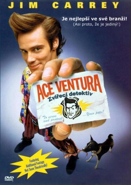 Sleduj online Komedie Ace Ventura: Zvírecí detektiv na !