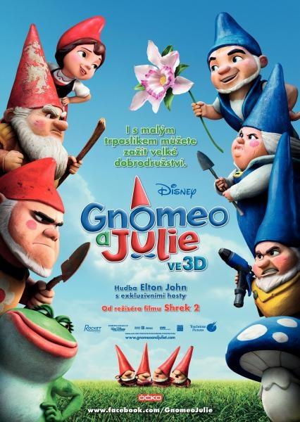 Sleduj online Animovaný, Dobrodružný, Komedie, Pohádka, Rodinný, Romantický Gnomeo & Julie na !