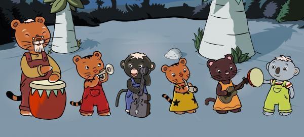 Sleduj online animovaný, dětem Kešu na !