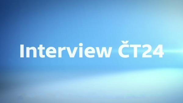 Sleduj online Aktuální dění, Zprávy Interview ČT24 na ČT24!