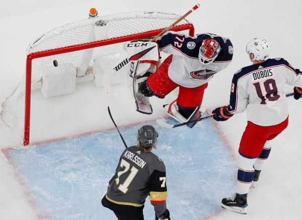 Sleduj online Lední hokej Columbus Blue Jackets - Vegas Golden Knights na Nova Sport 1!