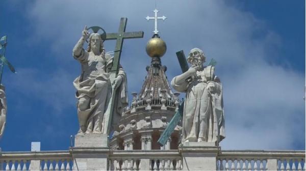 Sleduj online Náboženství Mše svatá z baziliky sv. Petra na !
