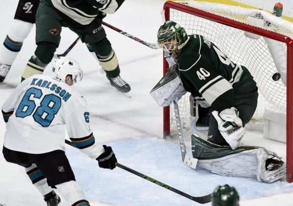 Sleduj online Lední hokej San Jose Sharks - Minnesota Wild na Nova Sport 1!