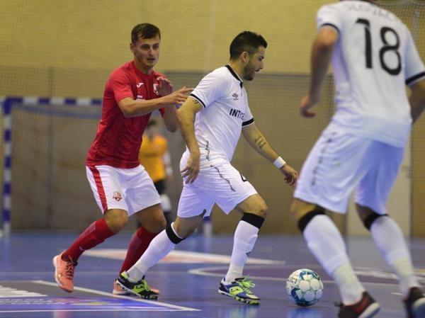Futsal: SK Interobal Plzeň - Helas Brno