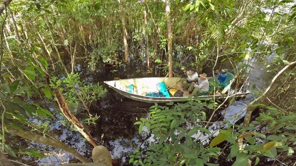 Uakari, Humboldtova ztracená opice