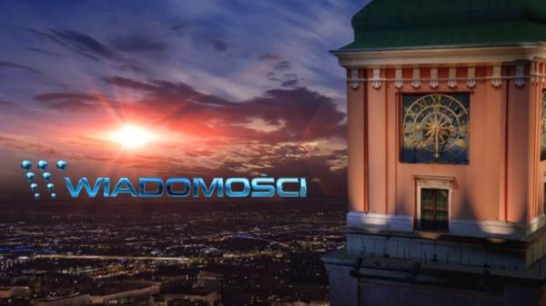 Sleduj online Aktuální dění, Zprávy Wiadomosci 19.30 na TVP1, TVP Info!