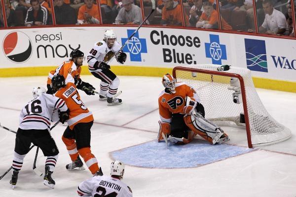 Sleduj online lední hokej Chicago Blackhawks - Philadelphia Flyers na Nova Sport 2, Nova Sport 1, Nova!
