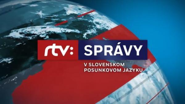 Sleduj online Zprávy Správy RTVS v slovenskom posunkovom jazyku na STV2!