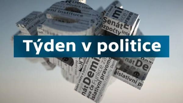 Sleduj online Politika Týden v politice na ČT24!