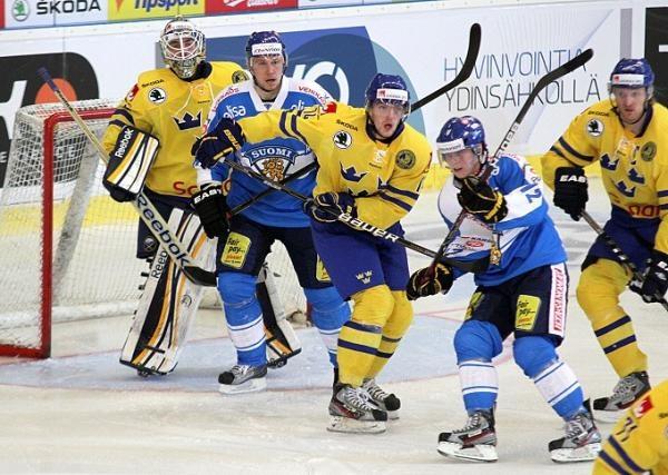 Hokej: Finsko - Švédsko