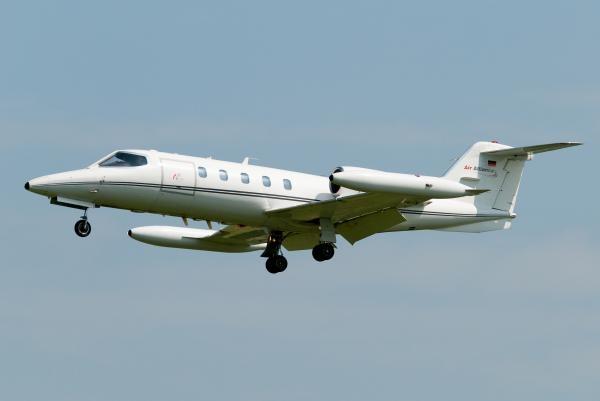 Unikátní Lear Jet!